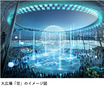 大広場「空」のイメージ図