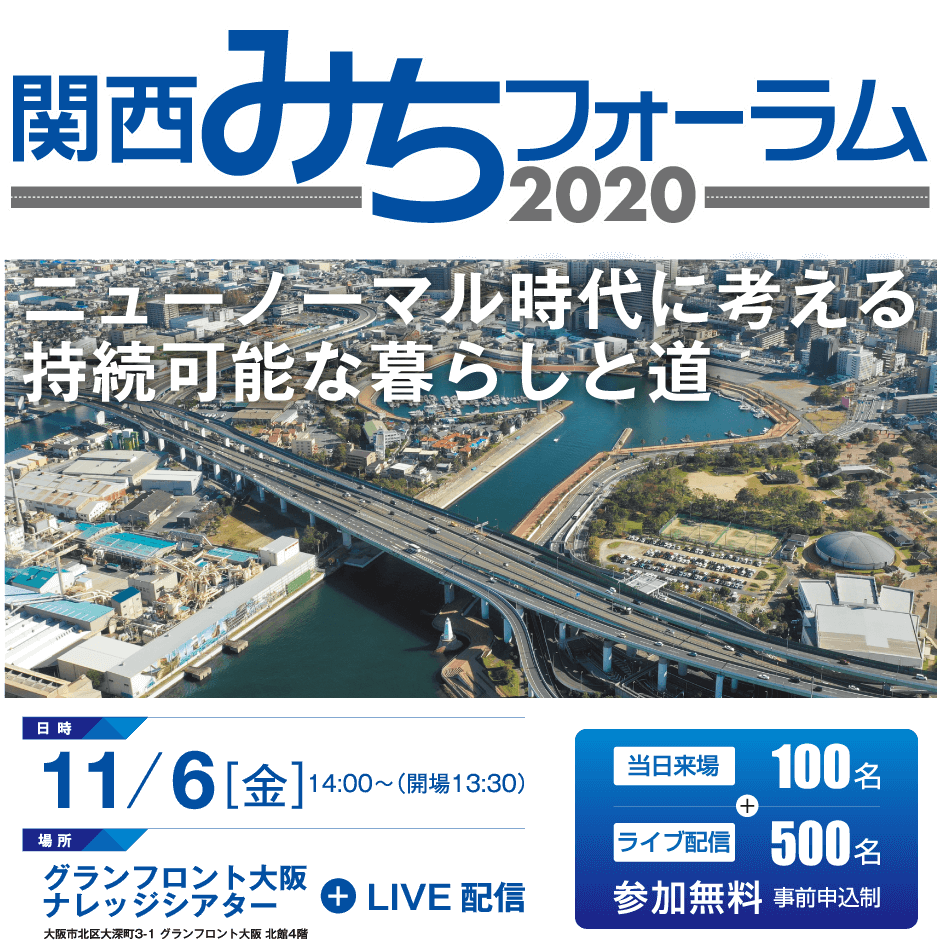 関西みちフォーラム2020